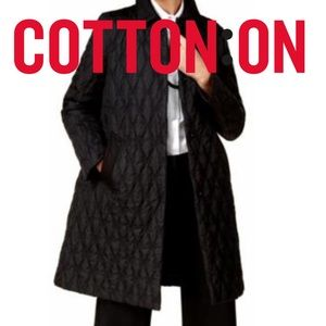 RAD Cotton On Quilted Coat